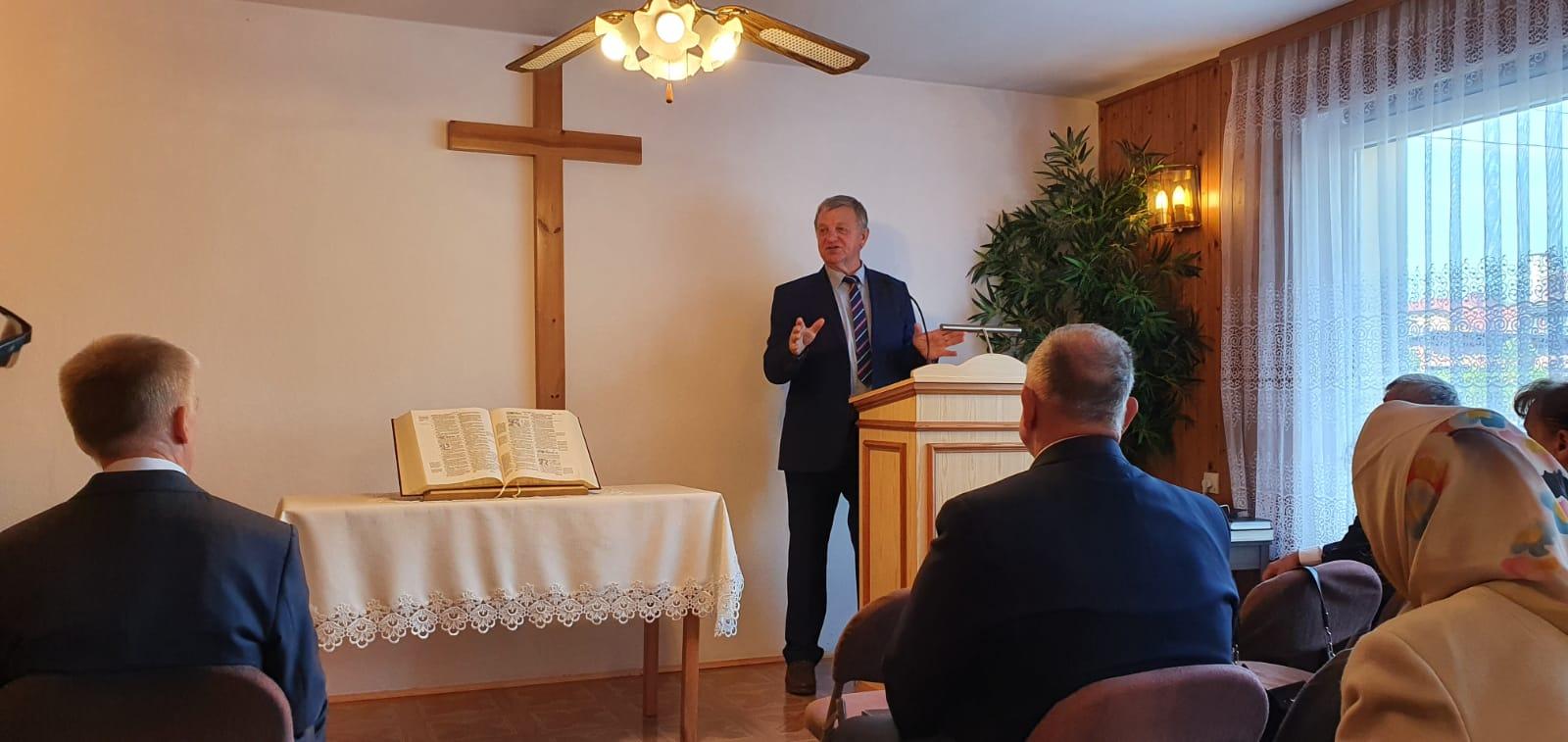Ryszard Dąbek, 03-10-2021, Świadectwo